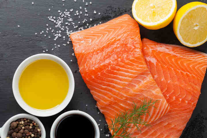 Terrina di salmone con maionese senza uova allo zenzero