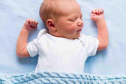 Nel neonato il buon sonno riduce il rischio obesità