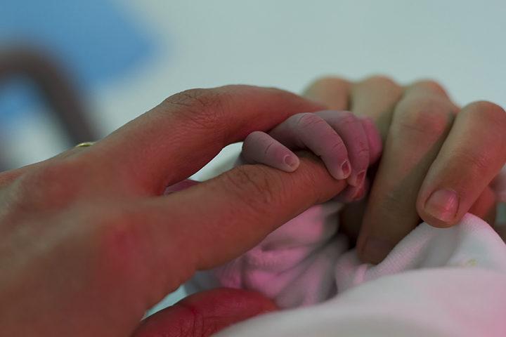 Più rischi obesità per i nati con cesareo