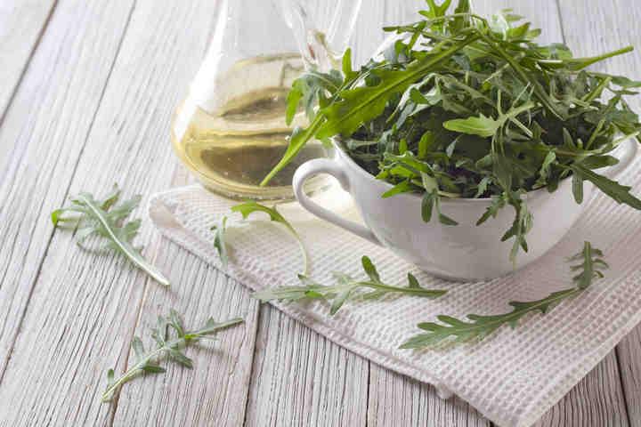 Insalata di soncino rucola e semi di zucca fondazione for Soncino insalata