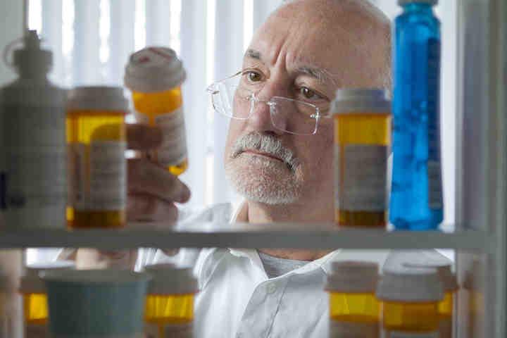 L'armadietto dei medicinali