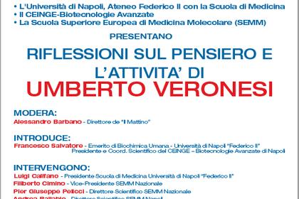 L'Università di Napoli e il Ceinge ricordano Umberto Veronesi