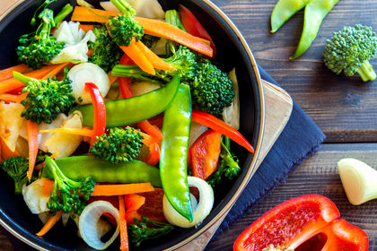 La cottura degli alimenti: frutta e verdure