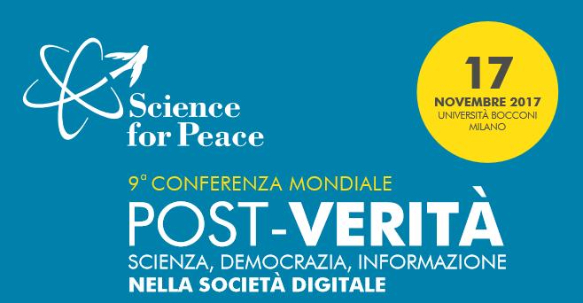 Science for Peace: contro la disinformazione la medicina è la scienza