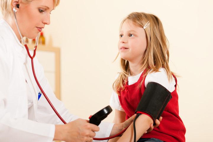 Anche i bambini possono avere la pressione alta