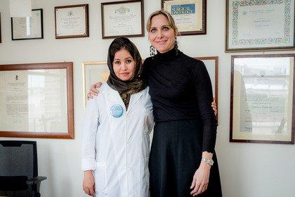 Dall'Afghanistan a Perugia per dare scacco matto al tumore al seno