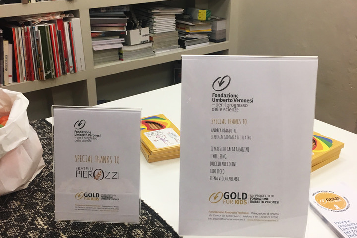 Arezzo per Gold for Kids