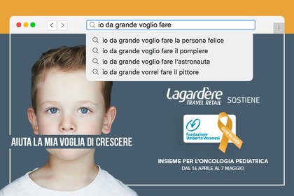 Lagardère Travel Retail a sostegno di Gold for Kids