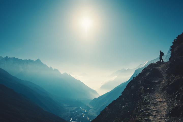 In alta montagna: ripararsi dal sole oltre che dal freddo