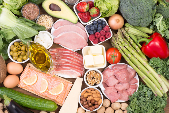 Dieta chetogenica vegana menu