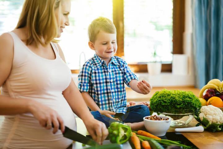segui una dieta durante la gravidanza