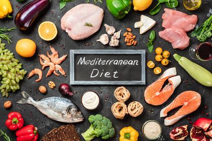 Dieta mediterranea: benefici anche se si è in sovrappeso