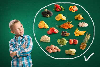 Educare i bambini a una dieta equilibrata «crea» adulti più sani