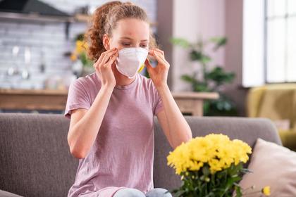 La mascherina fa male a chi soffre d'asma?