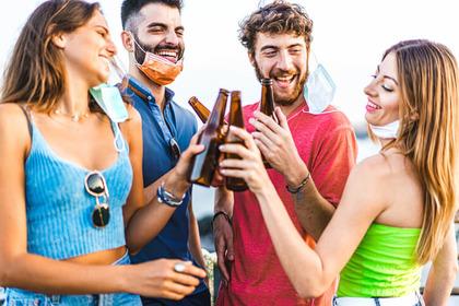 Ubriacature più frequenti tra i ragazzi dopo la quarantena