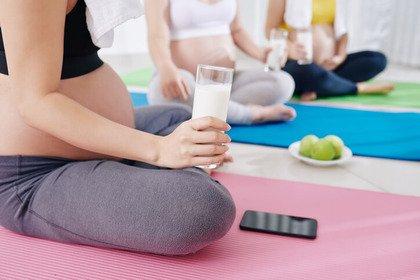 Una donna sportiva può mangiare di più durante la gravidanza?