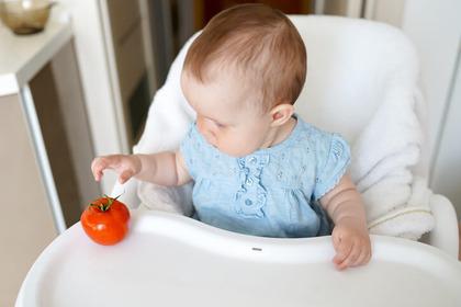 Si può dare il pomodoro a un bambino durante lo svezzamento?