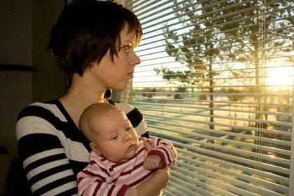 Se la mamma è depressa anche il figlio rischia