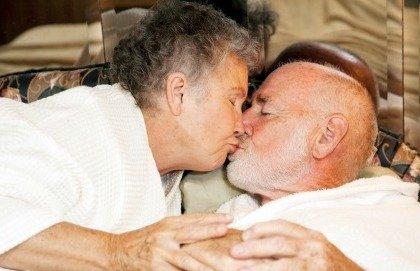 Il sesso dura tutta la vita. Anche a 80 anni