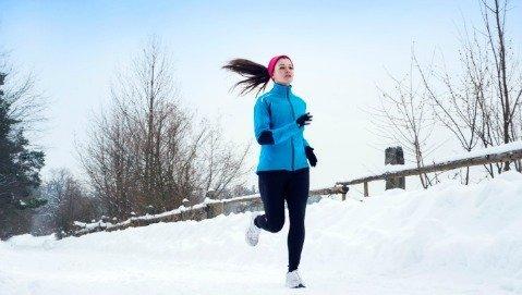 Contro il raffreddore sì allo sport d'inverno
