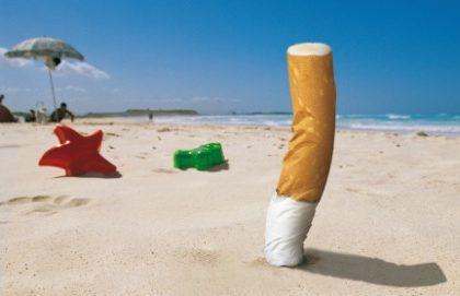 """Le """"cicche"""" delle sigarette sono un grave danno per l'ambiente"""