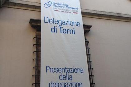 Il 7 giugno a Terni presentata ufficialmente la nuova delegazione locale della Fondazione