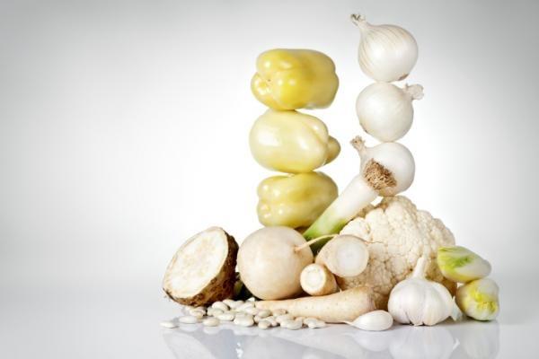 E' utile mangiare ortaggi bianchi?