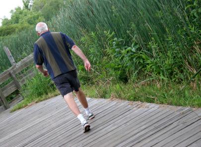 Cammina a passo svelto e salvi la prostata