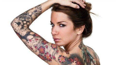 Amanti dei tatuaggi, non scordatevi la salute della pelle