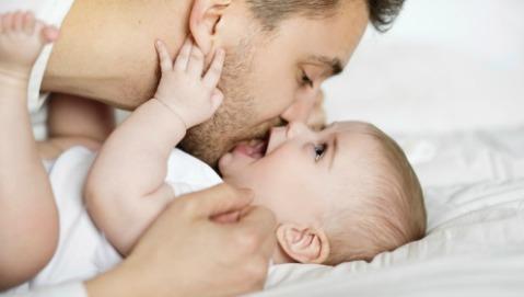 Se il neonato è sano è merito anche del papà