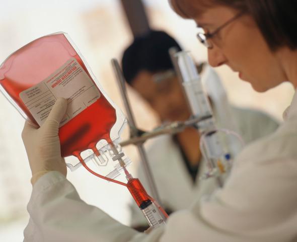 Sangue: ogni donazione  salva tre persone