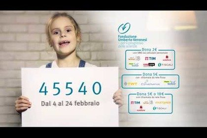 Lo spot di Gold for Kids: aiuta Alice a superare il cancro